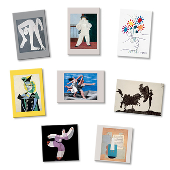 8 magnets Picasso Paintings