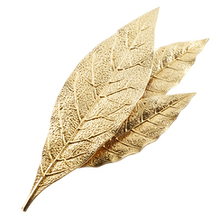 Three Laurel-leaf Brooch