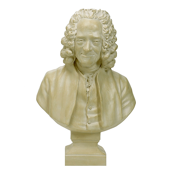 *Bust of Voltaire Wearing a Wig SR