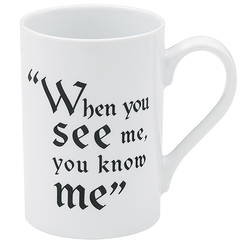 "Mug Tudors ""When you see me, you know me"""