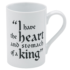 "Mug Tudors ""I have the heart and stomach of a king"""