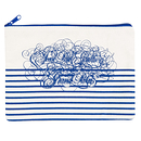 """Stripes"" pencil pouch Jean Paul Gaultier"