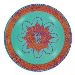 """Pop Ocre Nielle"" Decorative plate"