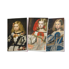 "3 small notebooks ""Velázquez"""