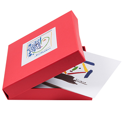 12 Square double cards & envelopes Picasso