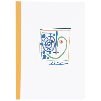 "Notebook Picasso ""Heart Face"""