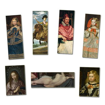 Lot de 7 magnets Velázquez