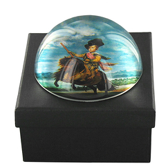 """Infant Baltasar Carlos"" Paperweight"