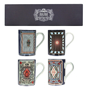 Coffret de 4 mugs Jean Paul Gaultier