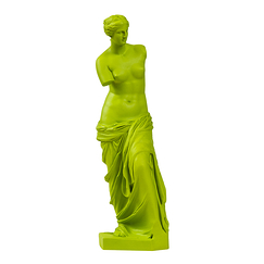 Aphrodite, a.k.a the Venus of Milo - Green