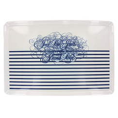 """Stripes"" tray"