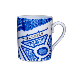 "Mug ""Plan de Turgot"" Tuileries"