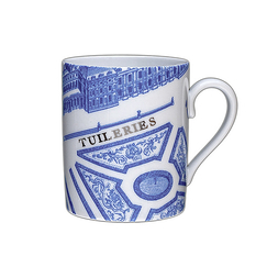 Turgot Map of Paris Mug - Tuileries