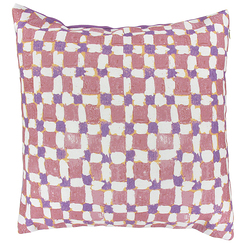 Checked Cushion cover