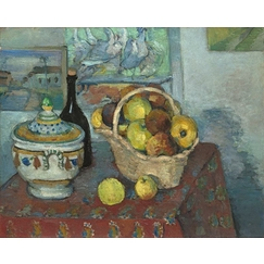 Still life with a soup tureen