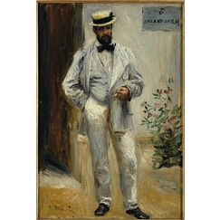 Portrait of Charles Le Coeur (1830-1906), architect, brother of the painter Jules Le Coeur, friend of Renoir