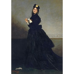 The Lady with the glove. Mrs. Carolus-Duran, born Pauline Croizette (1839-1912), painter