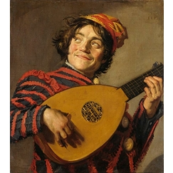 Buffoon with a Lute