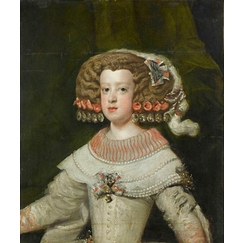 Portrait of the Infanta Maria Theresa, future Queen of France (1638-1683)