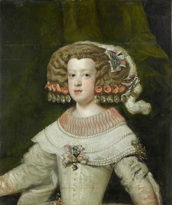 Portrait de l\'Infante Marie-Thérèse, future reine de France (1638 ...