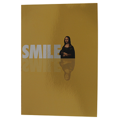 """Smile-Sourire"" Mirror Notebook"