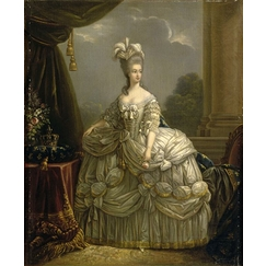 Portrait of Queen Marie-Antoinette