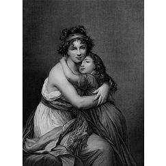 Mrs Vigée-Le Brun and her daughter, Jeanne-Lucie, known as Julie