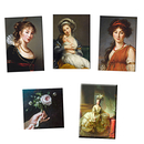 Lot de 5 magnets Vigée Le Brun