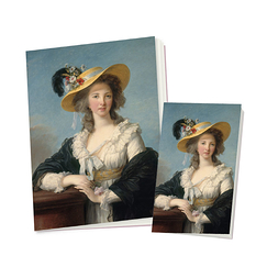 2 notebooks Vigée Le Brun