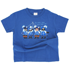 Musketeers T-shirt - Blue