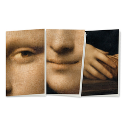 "3 small notebooks ""Monna Lisa"""