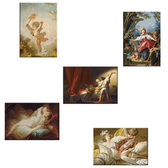 5 magnets Fragonard