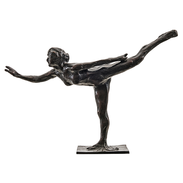 Small arabesque Degas - Bronze