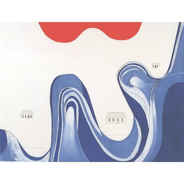 Mountain lakes - Louise Bourgeois