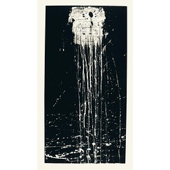 Pat Steir : The dragon king's daughter waterfall