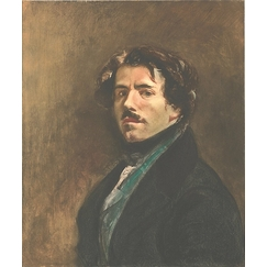 Self-portrait of Delacroix, said in the green vest, 2003 - Pietro Sarto