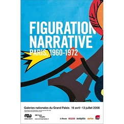 Figuration narrative Exhibition poster