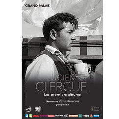 Exhibition poster Lucien Clergue