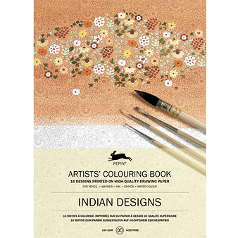 Livret de coloriage Artistes - Indian designs