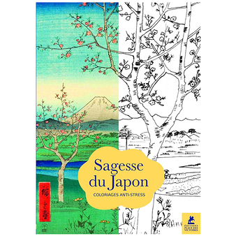 Sagesse du Japon - 70 coloriages anti-stress