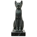 Goddess Bastet as a Cat