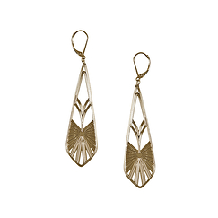 """Rayonnant"" Earrings"