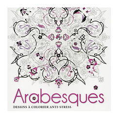 Arabesques - Dessins à colorier anti-stress