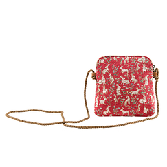 Millefleurs Pouch with cordon