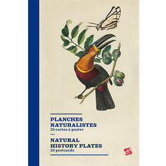 Natural history plates - 20 postcards