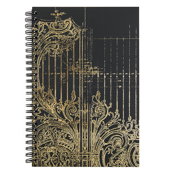 Petit Palais Gate - Spiral notebook