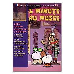 1 Minute in a museum - Box set 4 DVD