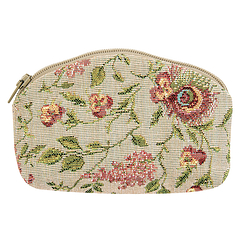 "The Queen's ""Brocade"" Purse (zip)"