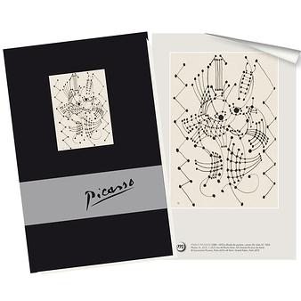 Cahier Picasso Étude de guitare | Boutiques de Musées
