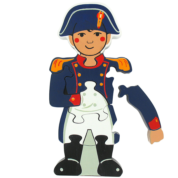 Puzzle shaped Napoleon